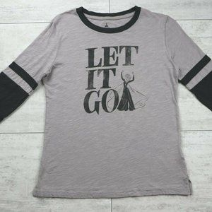 """Disney Frozen Elsa """"Let it go"""" 3/4 Sleeve T-Shirt"""